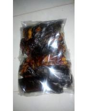 Cut dried catfish