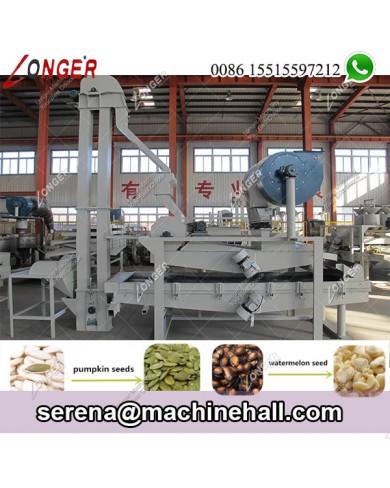 Melon Seeds Egusi Shelling Peeling Machine Production Line